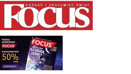 Magazyn focus 50% taniej