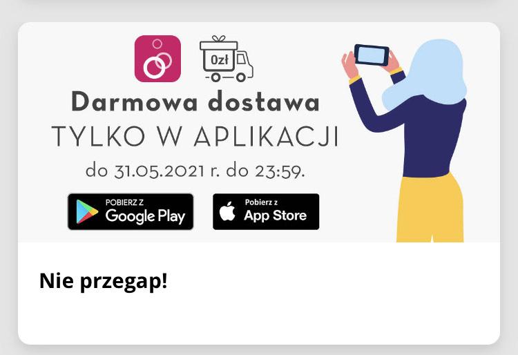 Limango darmowa dostawa w aplikacji