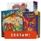 Zestaw gier planszowych Grajeczka, Zamki Caladale, Pasikonik i Mrówka