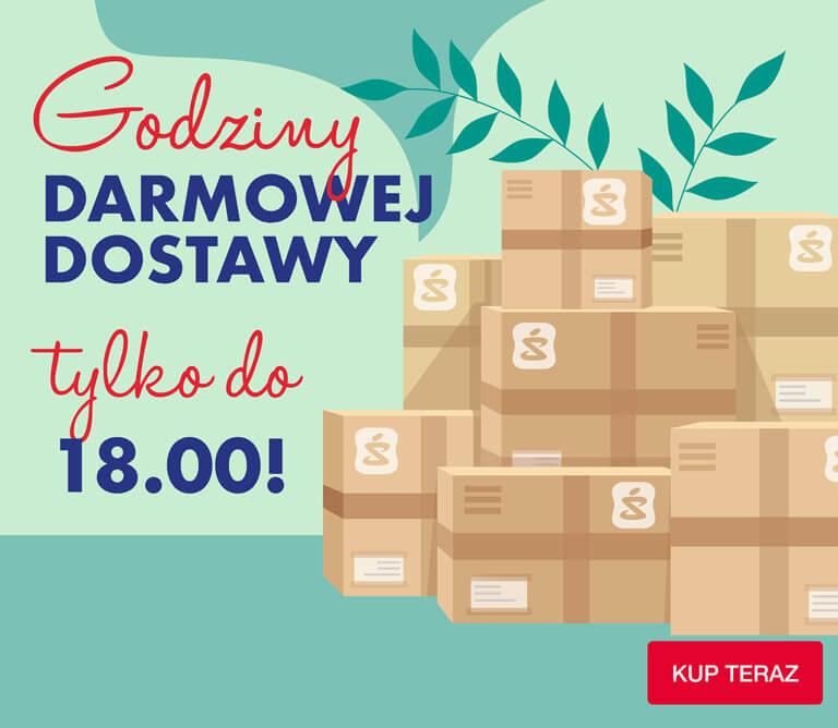 TYLKO DZIŚ Na superpharm.pl darmowa dostawa, brak MWZ