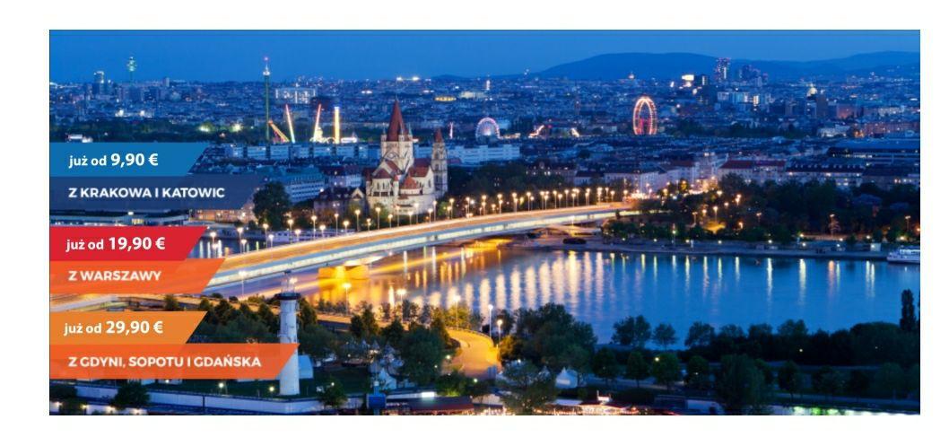 Wiedeń - Pociąg z Katowic lub Krakowa za 9.9 ero czyli 44.5 zl ( propozycja weekendu w opisie)