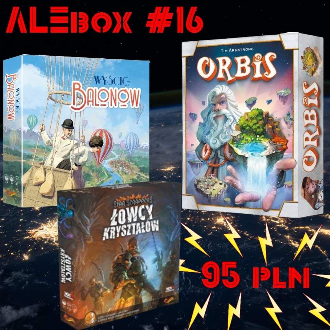 Alebox vol. 16. Gra planszowa ( gry planszowe )