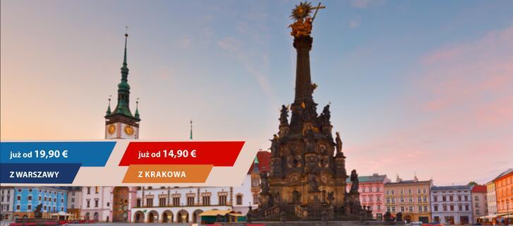 Wycieczka do Pragi - podróżuj pociągami PKP Intercity! za 68zl ( 14.90 euro )