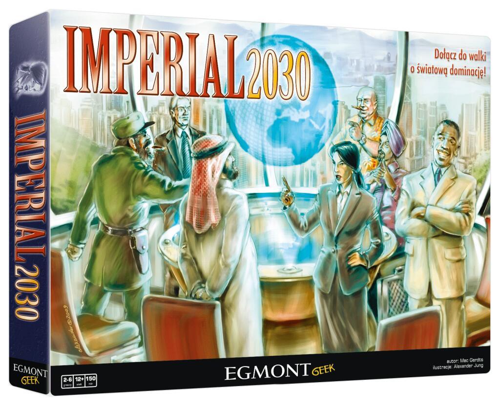 Gra planszowa - Imperial 2030 (BGG 7.7) @am76 / Gra strategiczna, ekonomiczna