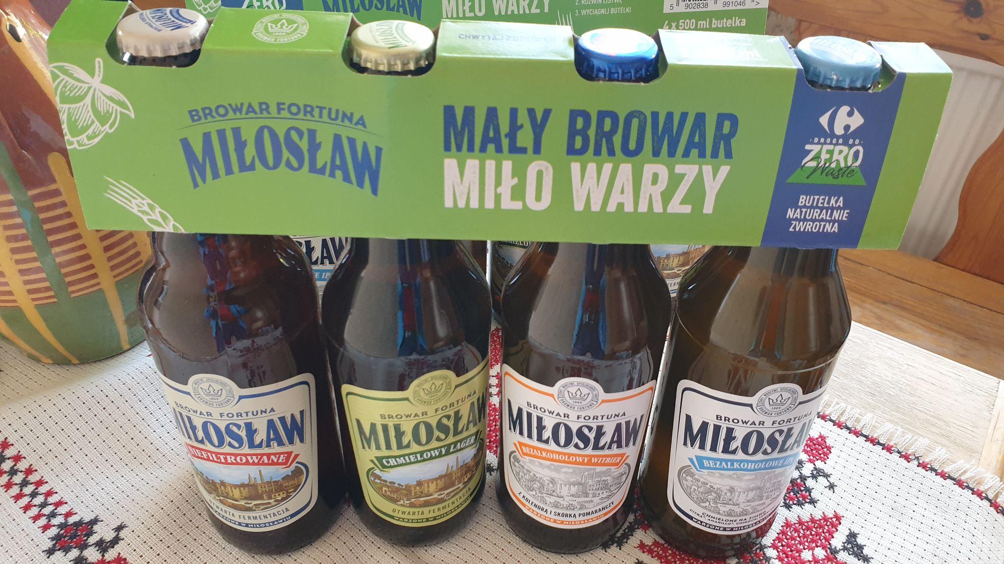 Piwo Miłosław - 8 piw - Supeco
