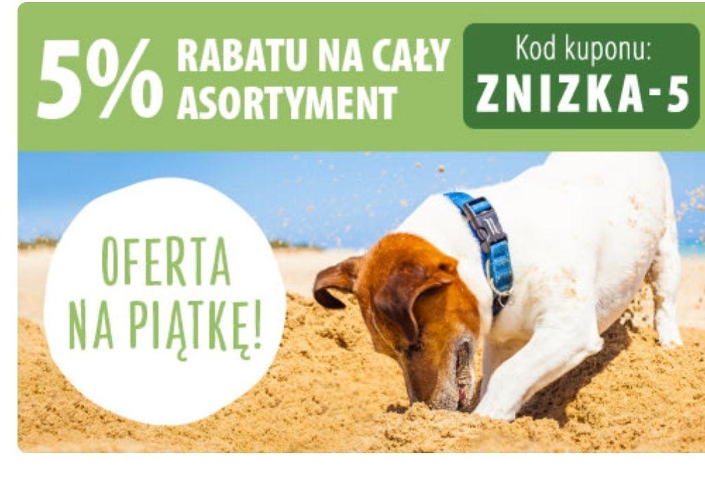 5% zniżki na cały asortyment sklepu zooplus