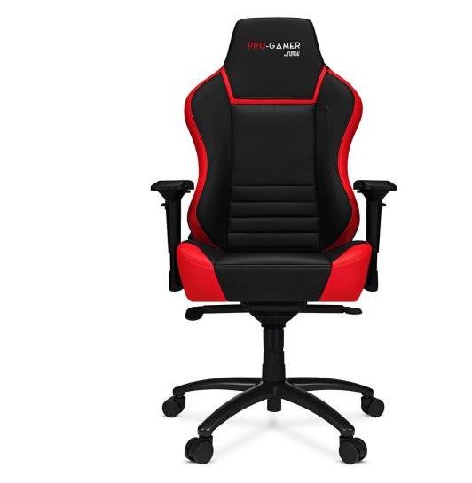 Fotel gamingowy Pro-Gamer 2.0 (czarno-czerwony)