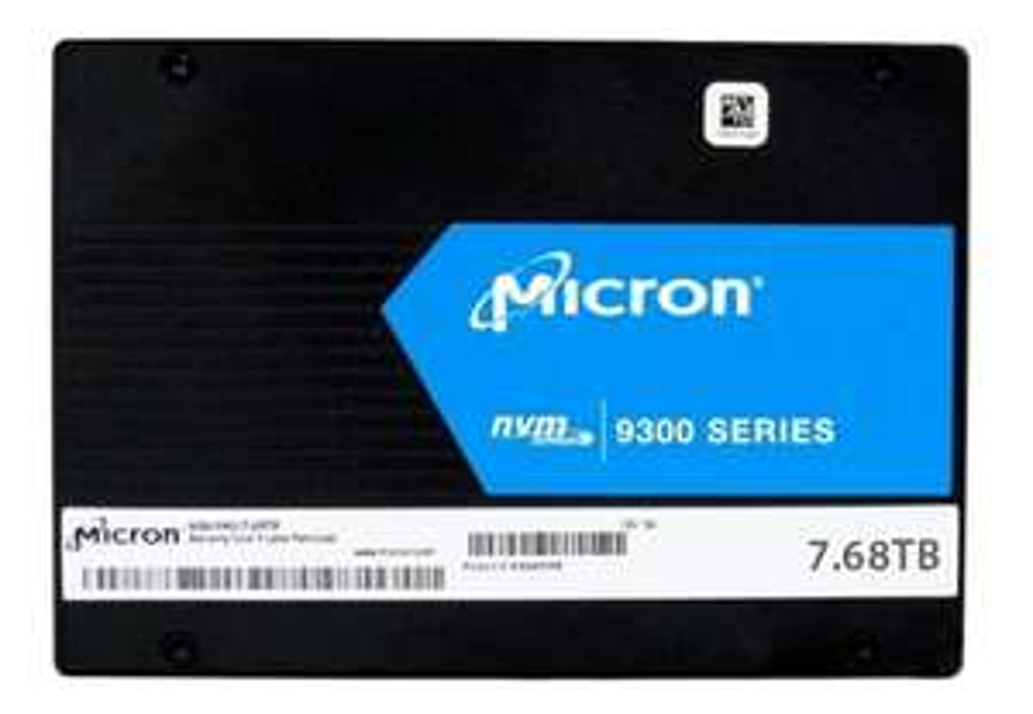 Dysk SSD Micron 9300 Pro 7.68TB NVMe U.2