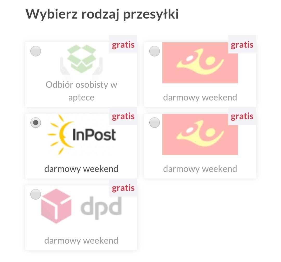 Apteka e-medest.pl, darmowa dostawa bez mwz, przykład w opisie