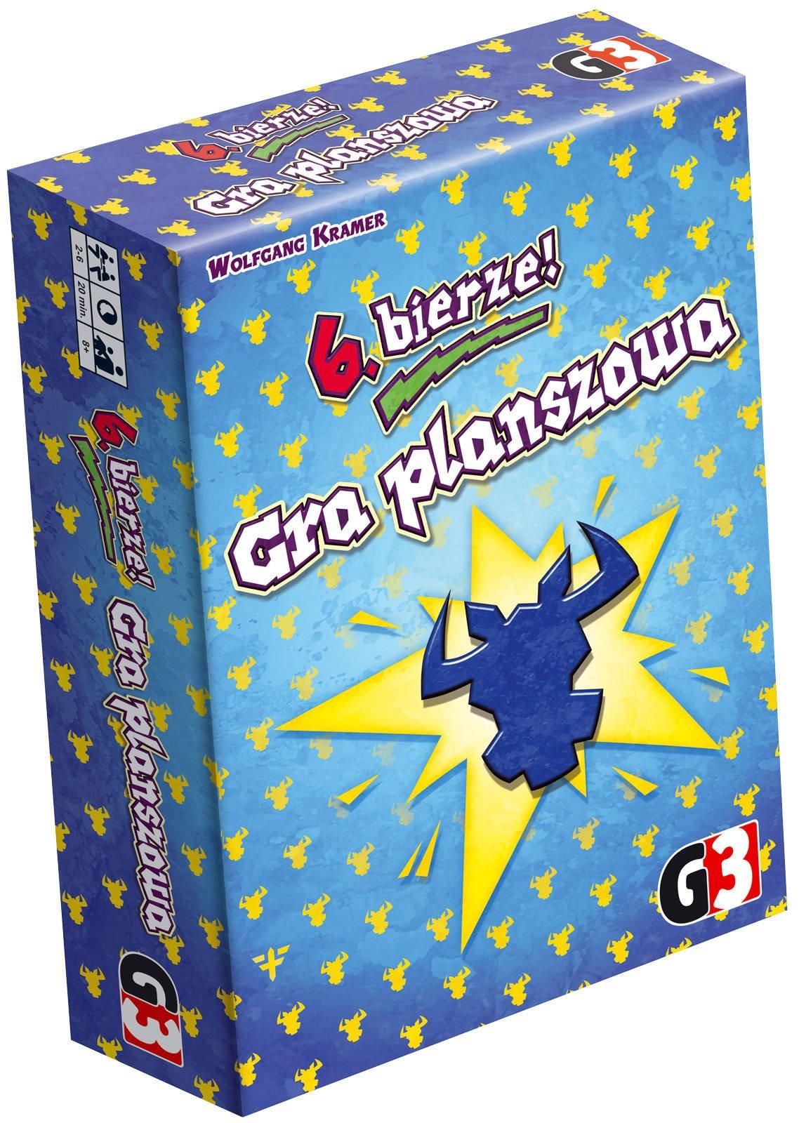 Gra planszowa - 6 bierze! (BGG 6.6) @am76 / Gra towarzyska, logiczna