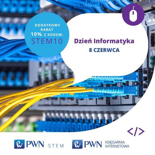 Rabat 10% na książki PWN z zakresu informatyki