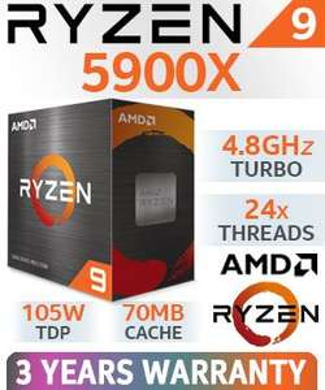Ryzen 9 5900X - Box