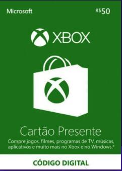 [Xbox One   Xbox Series X] Karta podarunkowa o wartości 50 reali brazylijskich do Xbox Live (lub 100 BRL za 71,37 zł