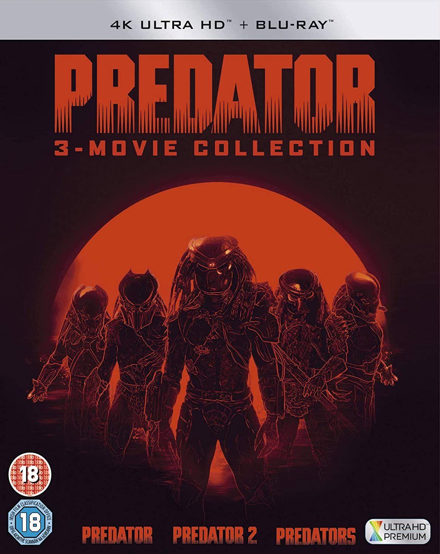 Predator Trylogia Blu-Ray 4K + Blu-Ray 28,94 GBP