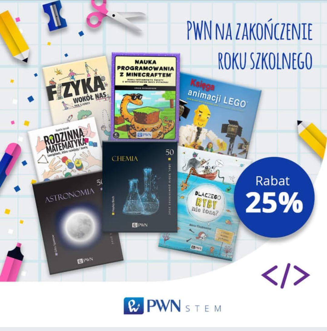 Książki PWN dla dzieci i młodzieży taniej o 25%