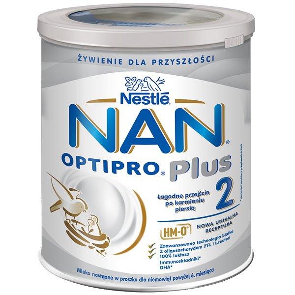 Nestle NAN Optipro Plus 2 HM-O -termin 31.08.2021
