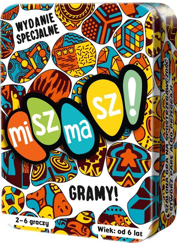 Gra planszowa - Miszmasz! Gramy (BGG 6.9) @am76 / Gra towarzyska, imprezowa