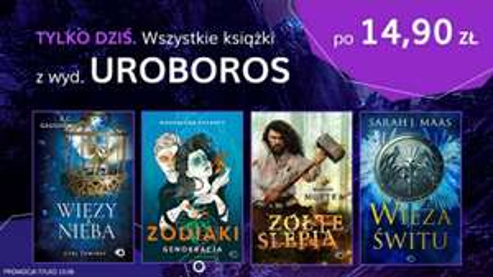 Książki wyd. UROBOROS po 14,90 zł w Publio