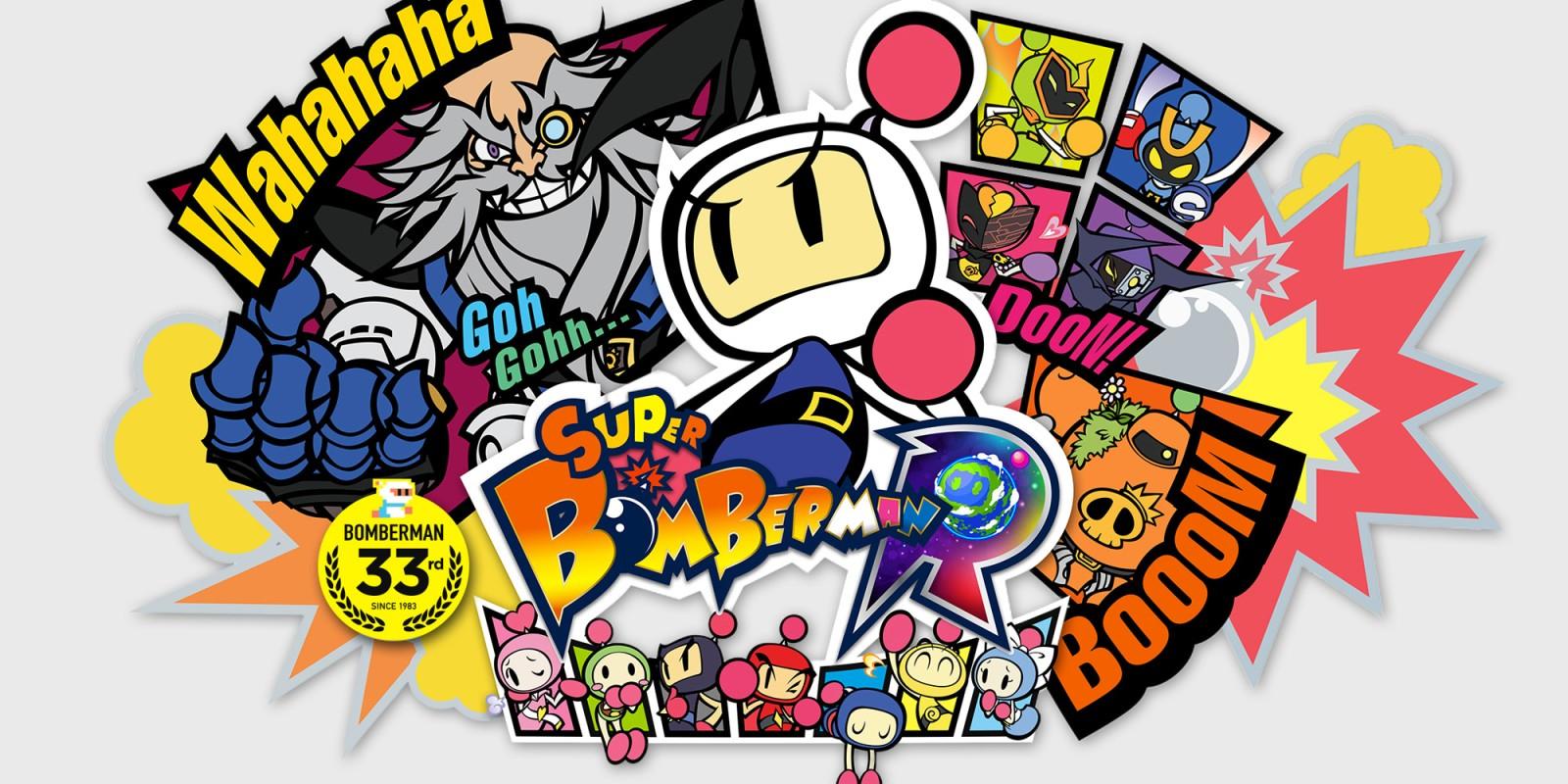 Super Bomberman R za 18 zł (możliwe 17,40 zł w rosyjskim eShopie) - Nintendo Switch eShop