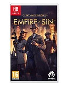 Empire of Sin Day One Edition Nintendo Switch za 15,03£ na amazon.uk