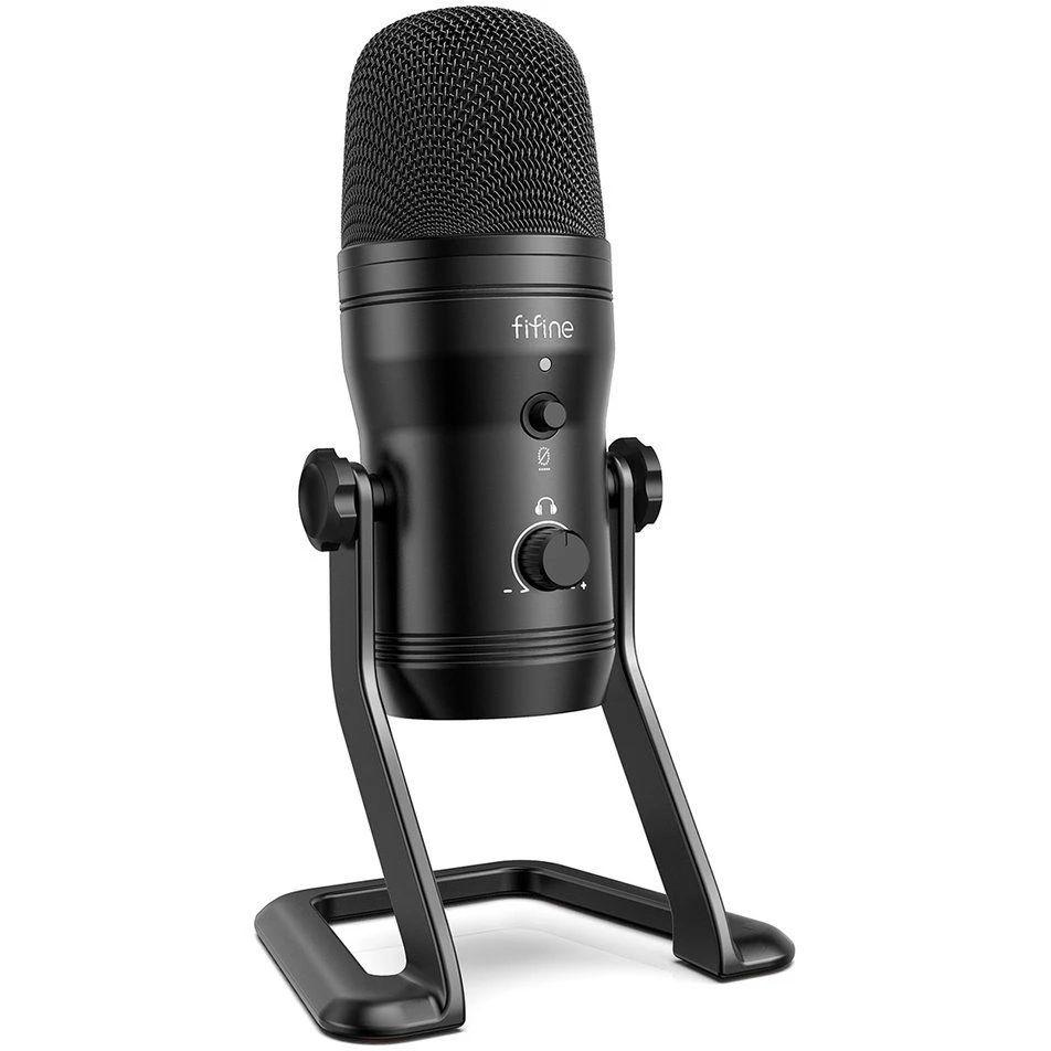 Mikrofon pojemnościowy Fifine K690 USB i inne modele
