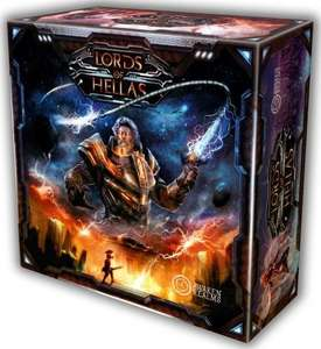 Gra planszowa Lords of Hellas core box