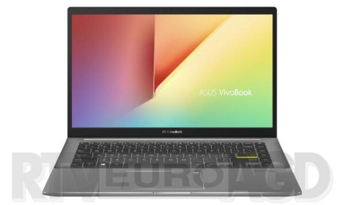 """Laptop ASUS VivoBook S14 M433IA-EB082T 14"""" AMD Ryzen 5 4500U - 16GB RAM - 512GB Dysk - Win10"""