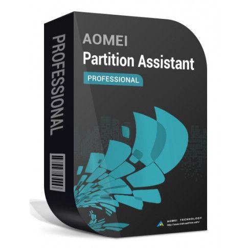 AOMEI Partition Assistant Pro 9 - darmowa licencja na 1 rok wraz z aktualizacjami