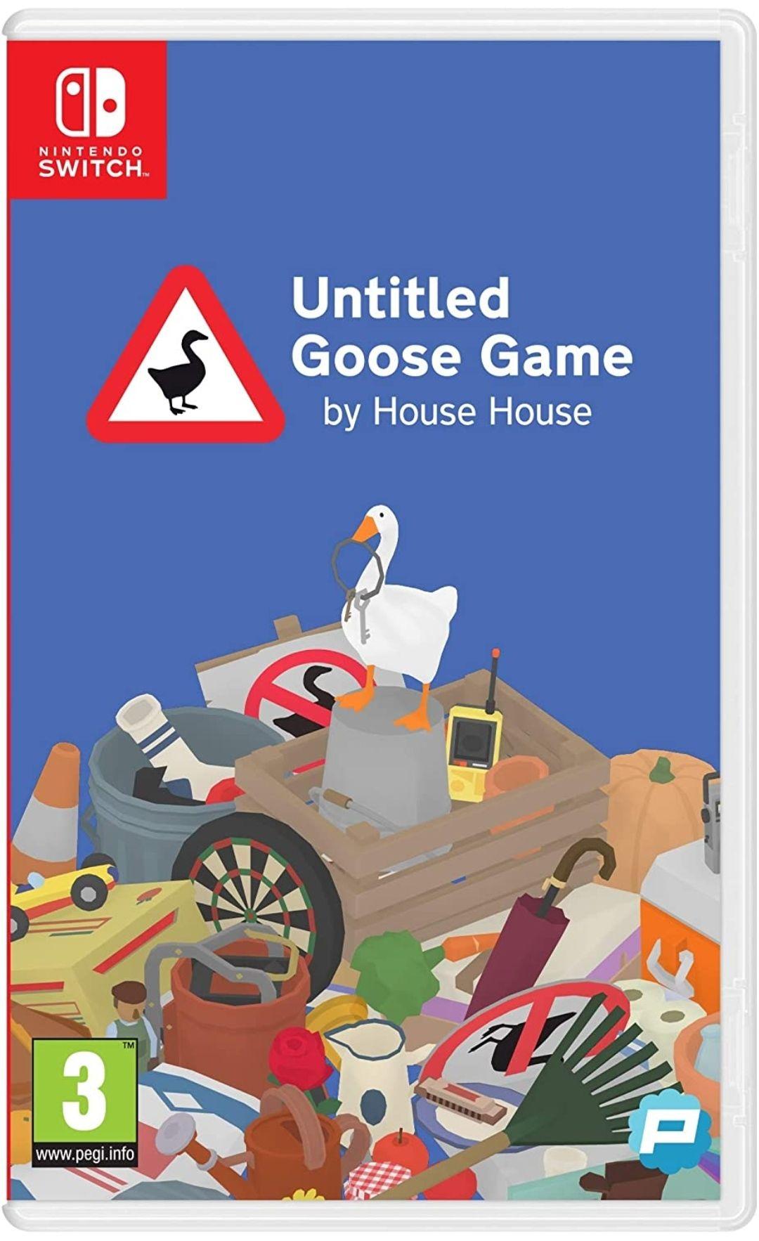 Untitled Goose Game na Nintendo Switch za 16,72£ z dostawą   Amazon UK