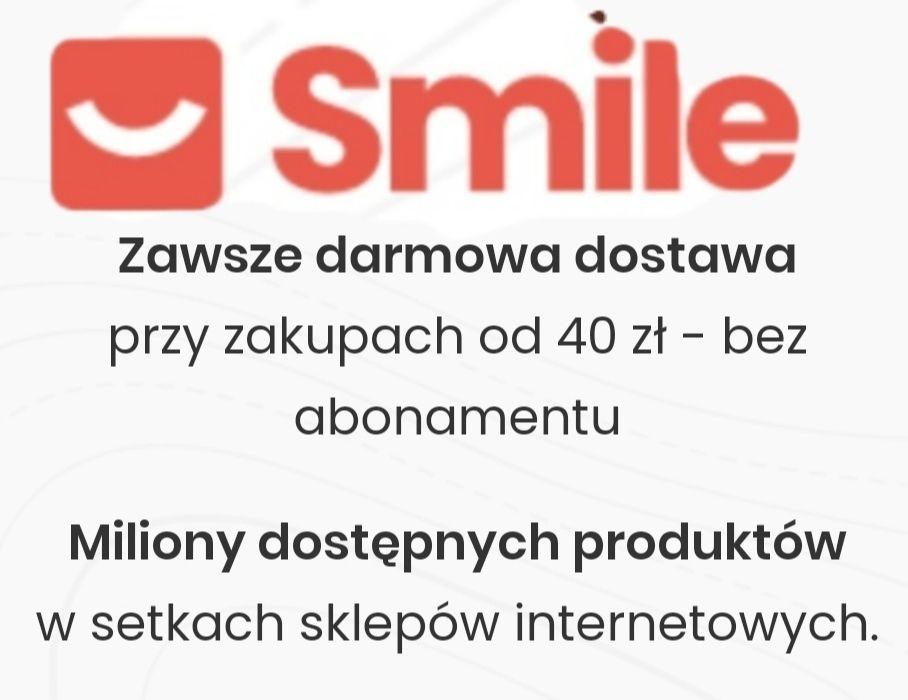 Smile.pl - lista sklepów oferujących darmową dostawę do paczkomatów powyżej 40zł