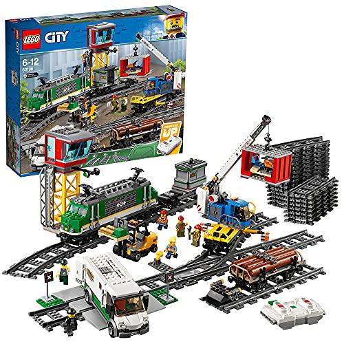 LEGO 60198 City - pociąg towarowy
