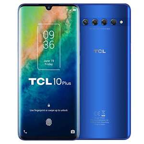 Smartfon TCL 10 Plus, 6/256GB, Amoled, Snap 665
