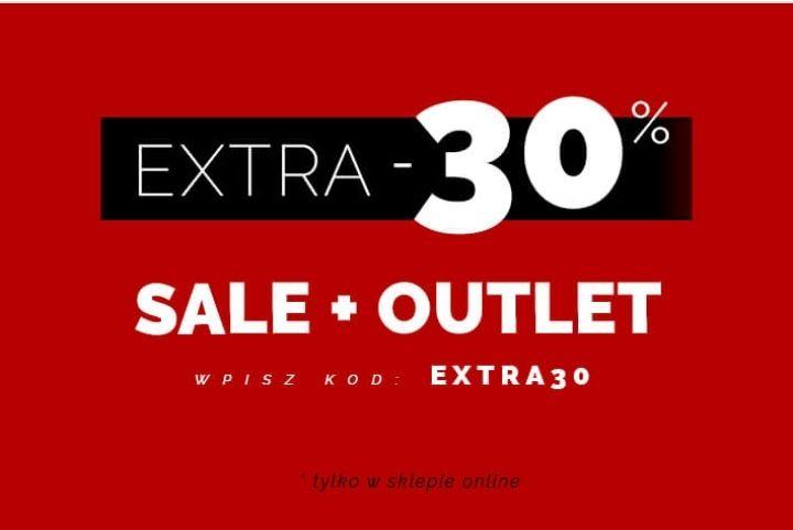 30% zniżki na SALE i OUTLET