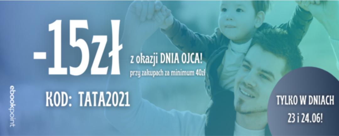 Ebookpoint -15 zł na wszystko, MWZ: 40 zł