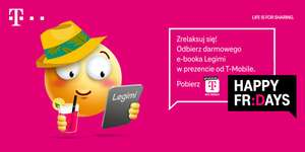 Darmowy e-book Legimi od T-Mobile - Happy Fridays