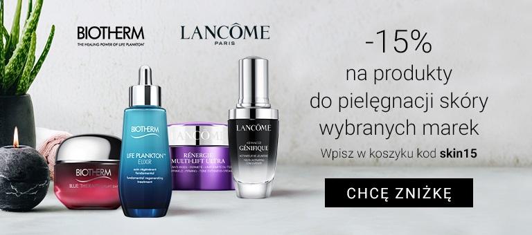 Lancome i Bioherm - 15% w Notino kosmetyki pielęgnacyjne do skóry