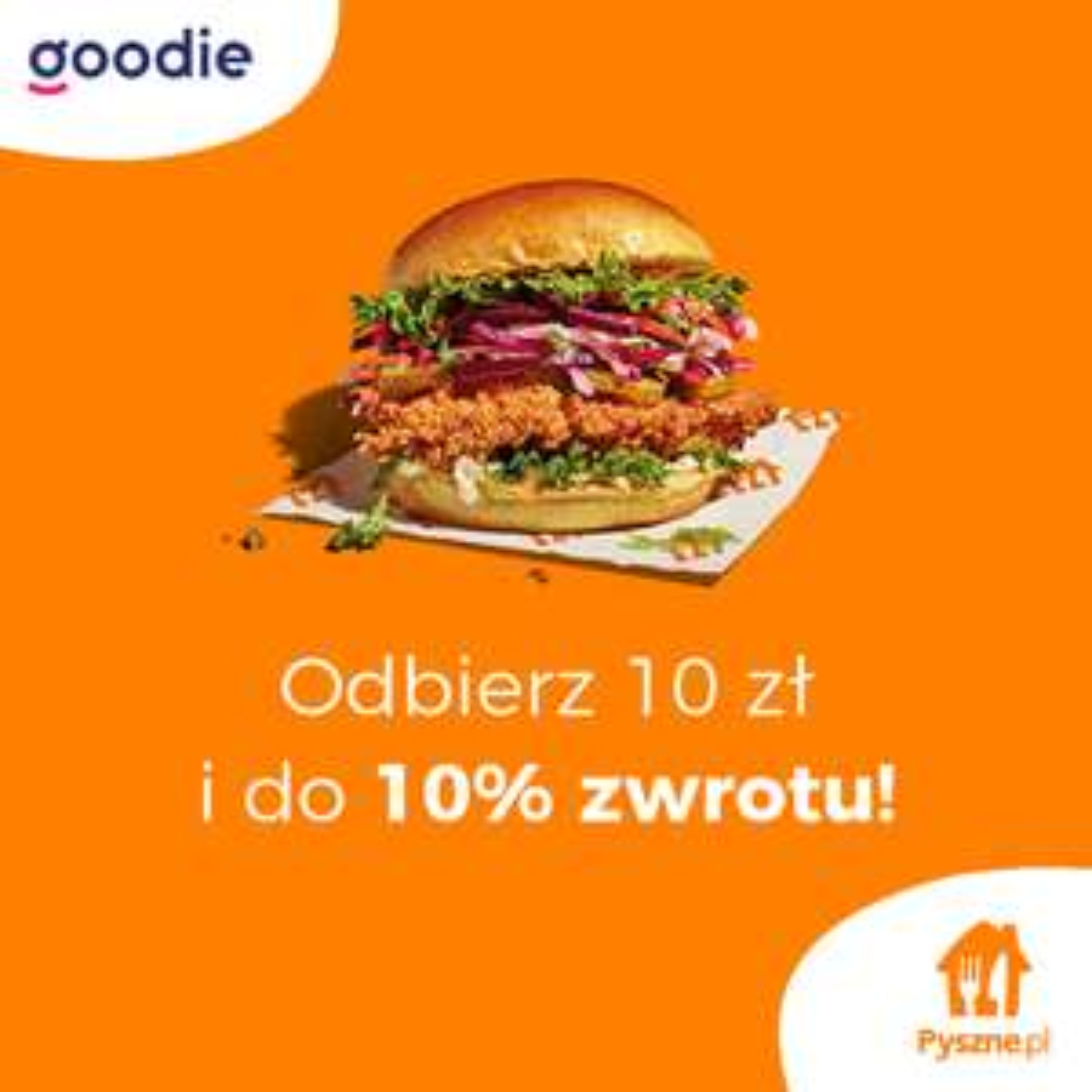 Do 10% cashback na Pyszne.pl