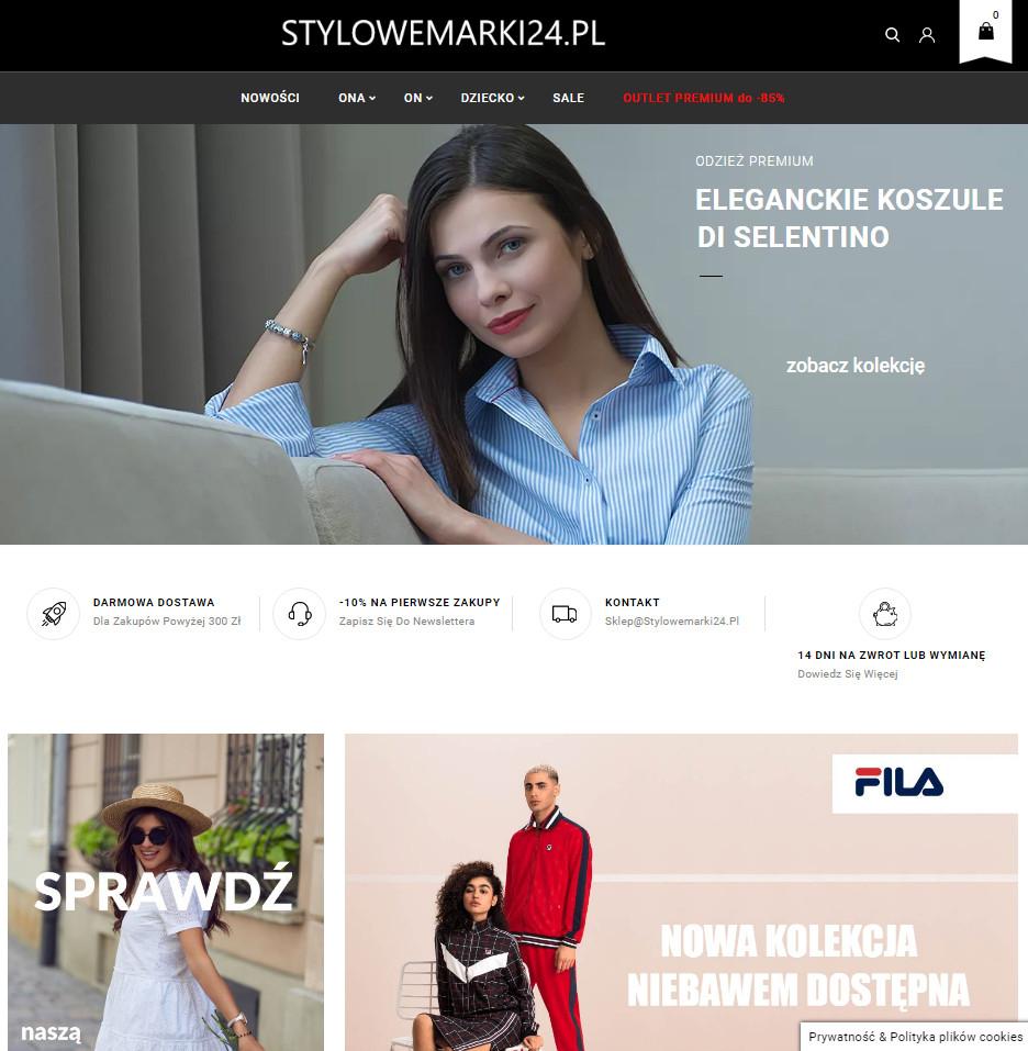 Stylowemarki24.pl - kupon 10% na wszystko z okazji wakacji !!!