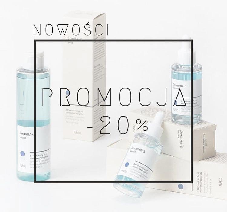 Nowości kosmetyków purito -20%