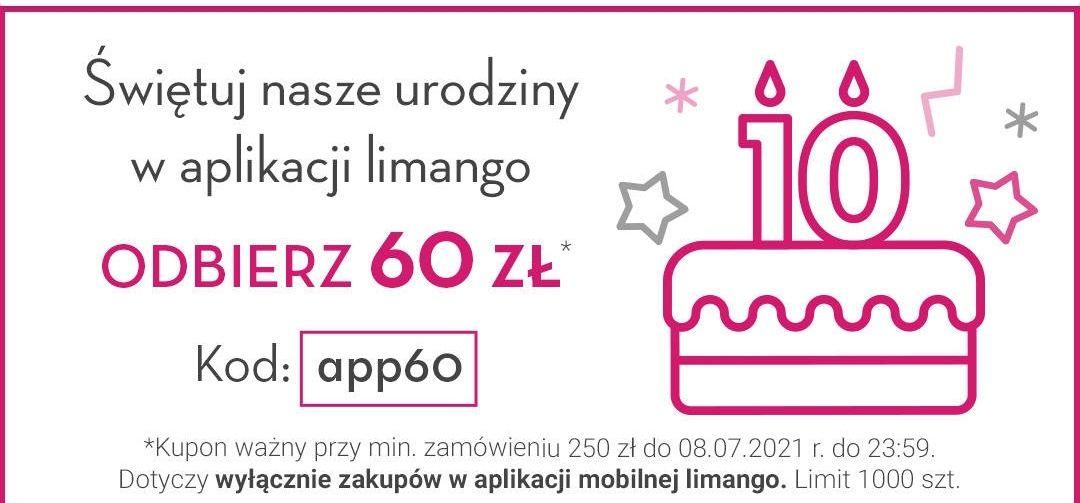 Limango.pl: kupon -60zl przy MWZ 250zł w aplikacji i darmowa dostawa 03-11.07 (np. kurtka Marmot Alpha 60 za 290,45zl)