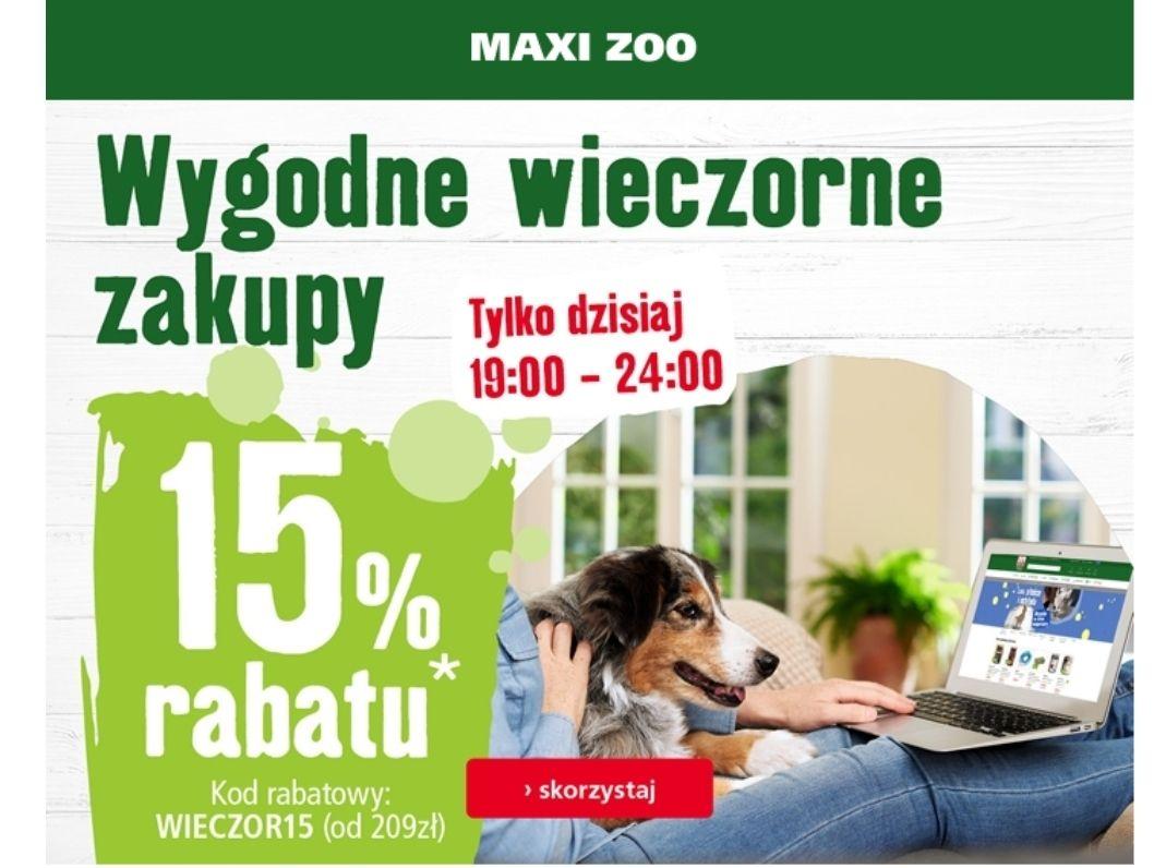Maxi zoo -15% MWZ 209