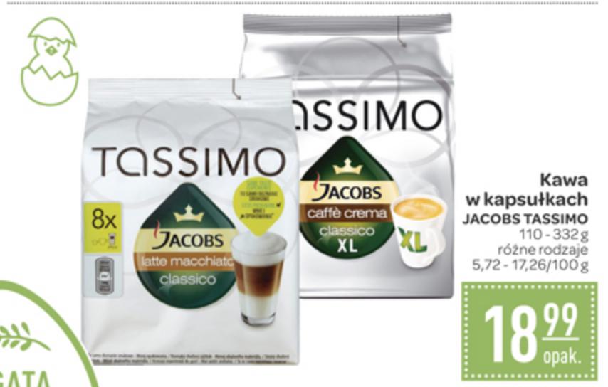 Carrefour Kapsułki TASSIMO rózne rodzaje