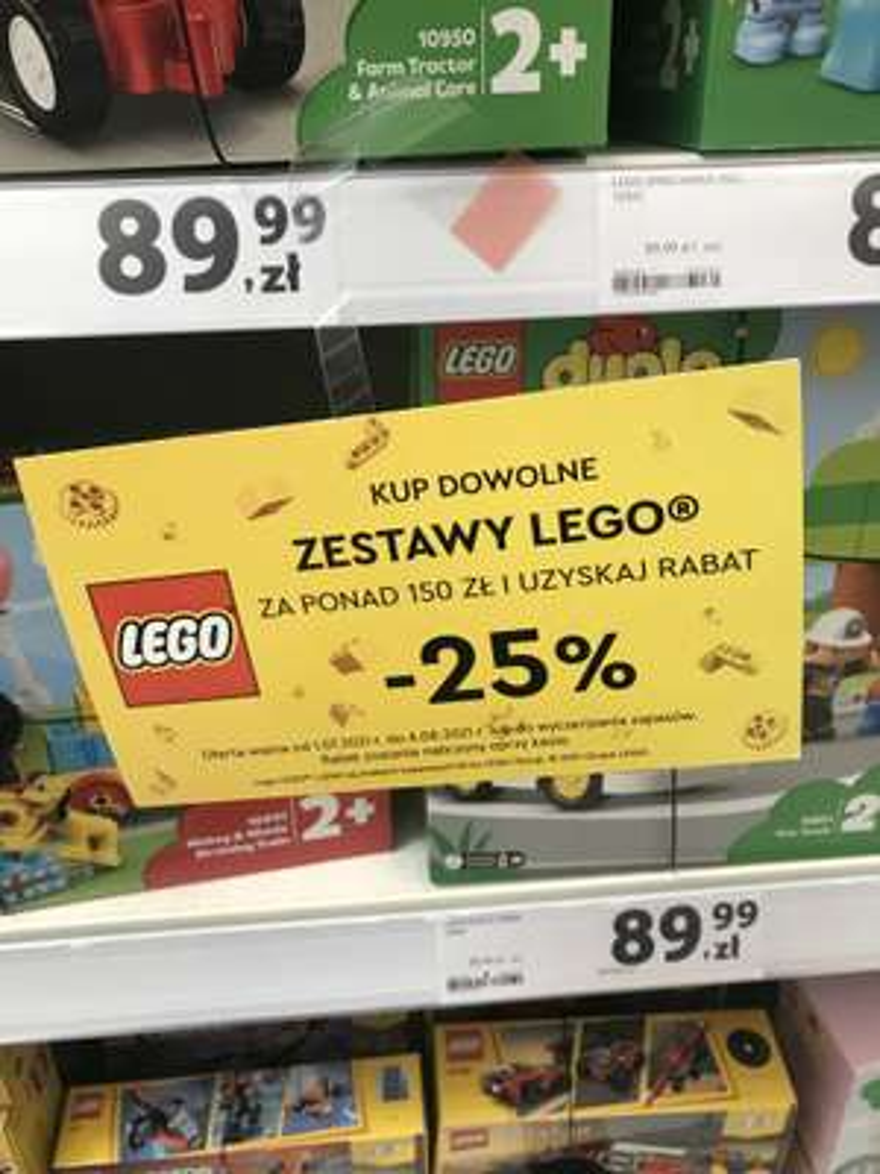 -25% na LEGO Tesco Silesia Katowice
