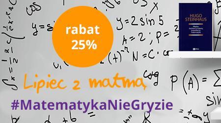 Ksiązki PWN z zakresu matematyki tańsze o 25%