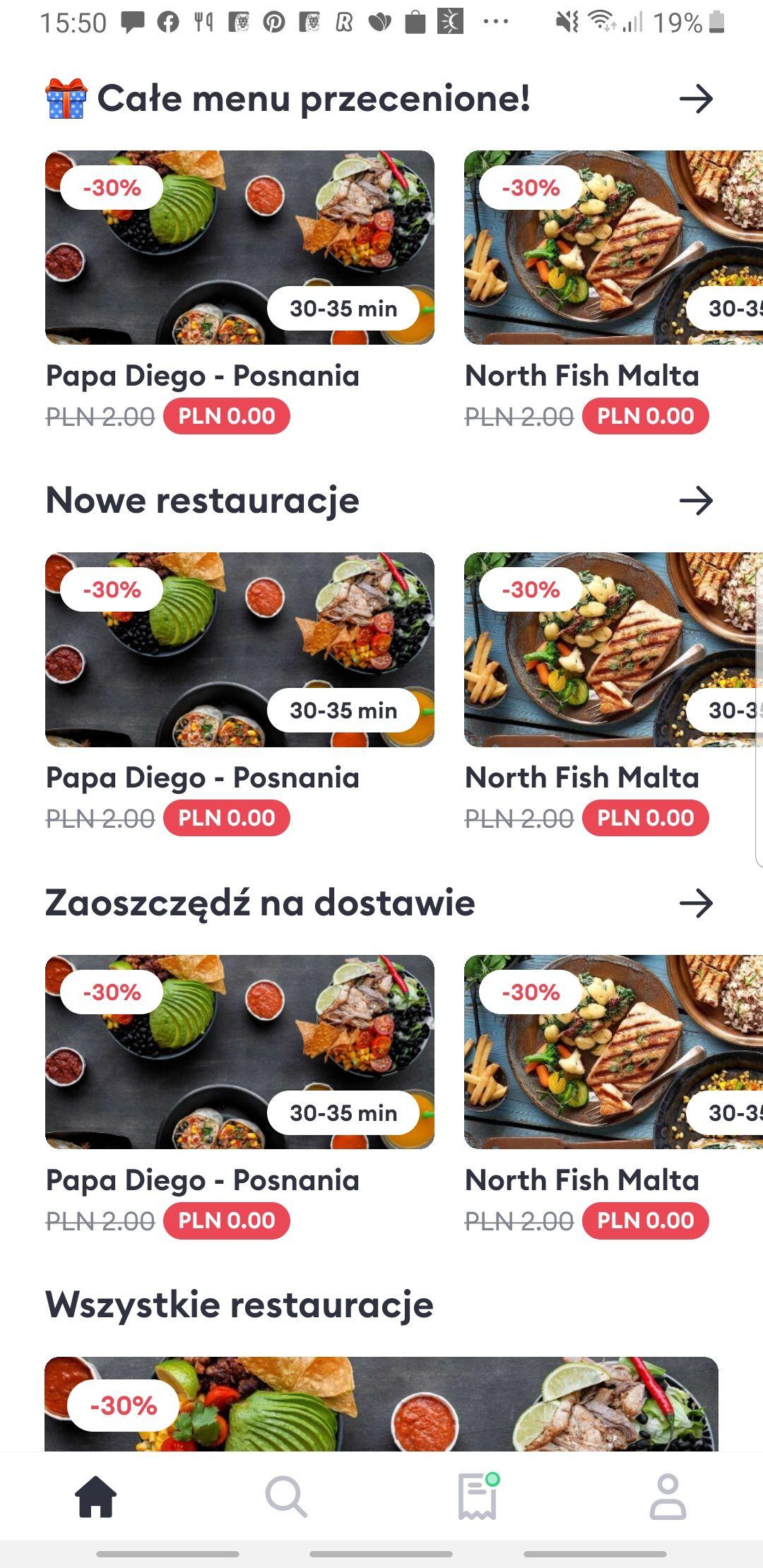 Bolt Food w Poznaniu. -30% + darmowa dostawa