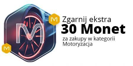 +30 Monet przy zakupach od 350 zł w kategoriach Motoryzacji @Allegro