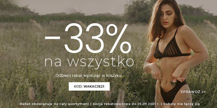 Gorteks bielizna -33% na wszystko