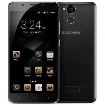 Blackview P2 Lite 4G Phablet Android 7.0 5.5 pulgadas MTK6753 1.3GHz 3GB RAM 32GB ROM 6000mAh Batería 8.0MP Cámara Frontal OTG Full Metal Body Fingerprint Scanner