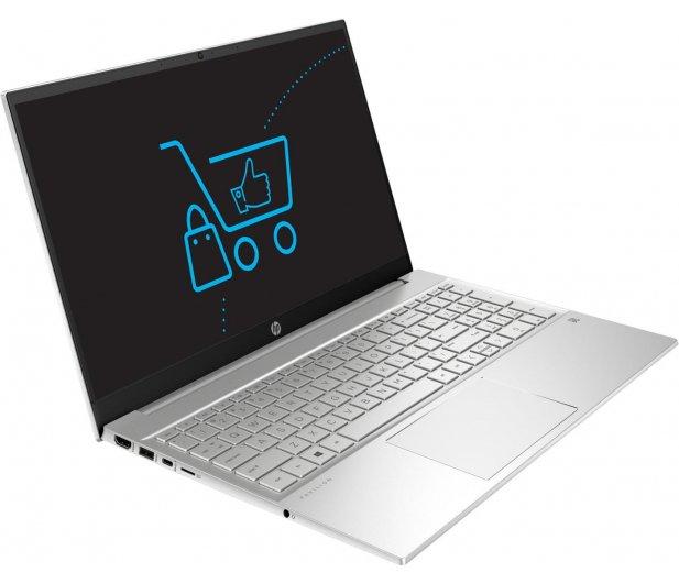 Laptop HP Pavilion 15 i7-1165G7 - 8GB - 512 - MX450 - Silver