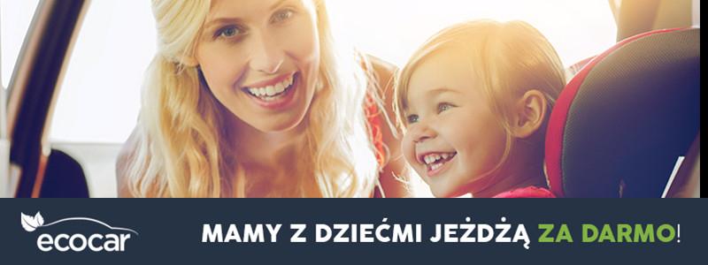 Darmowe taxi na Dzień Matki. EcoCar. Warszawa, Wrocław, Trójmiasto
